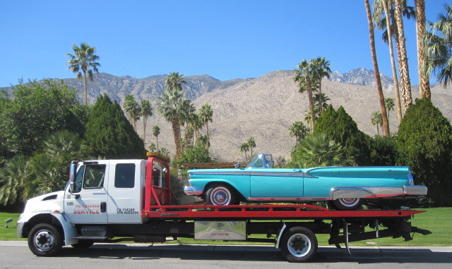 towing of 1959 Skyliner