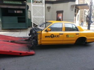 towing cab buck